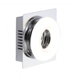 Bagel LED Chrome Wall Light 9461-17