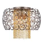 Almira Rust Coloured Ceiling Light 6475-48