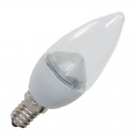 11196 4.5w SES Clear LED Candle Bulb