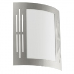 82309 City Outdoor Wall Light Stainless Steel