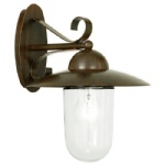 Milton Outdoor Wall Light Antique Brown 83589