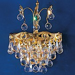 85287 Queen Crystal Double Wall Light