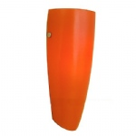 Naro Orange Glass Wall Light 87271
