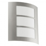 City Outdoor Wall Light Steel 88139