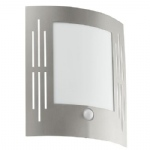 City Stainless Steel Outdoor Sensor Light 88144
