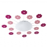 Viki 1 Pink Childrens Light 92147
