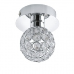 92591 Ribolla Single Crystal Ceiling Light
