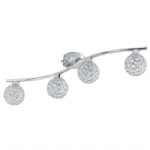 Ribolla Halogen Ceiling Four Light 92594