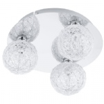 Prodo 1 Triple Globe Ceiling Light 92668