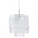 Fedra Chrome 2 Pendant Light 93092