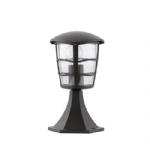 Aloria Small Black Outdoor Post Light 93099