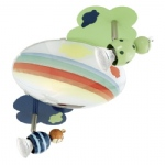 Taya 1 LED Children's Ceiling Light 93141