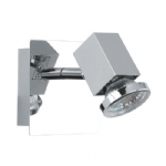 Zabella LED Wall Light chrome 93321