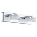Romendo LED Bathroom Double Wall Light 94652