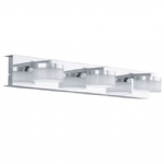 Romendo LED Bathroom Triple Wall Light 94653