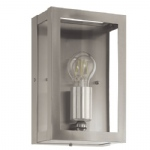 Alamonte Outdoor Stainless Steel Wall Light 94827