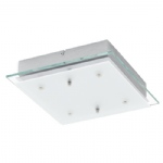 Fres 2 Small LED Chrome Ceiling Light 94985