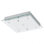 Fres 2 Large LED Chrome Ceiling Light 94986