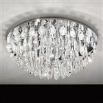 Calaonda Large Round Crystal Light 93434