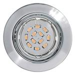 Pento Single Chrome Recessed LED Downlight 94241