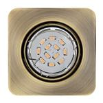 Pento Square Recessed Bronze LED Spotlight 94265