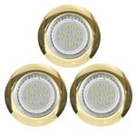 Peneto Pack Of Three Fixed Recessed LED Downlights 94404