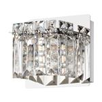 Fuertescusa Single Chrome Crystal Wall Light 98597