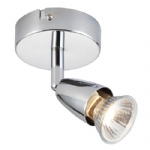 Amalfi Chrome Plate Single spotlight 43277