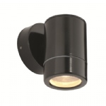 Odyssey Satin Black Outdoor Wall Light ST5009BK