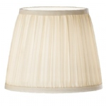 Cream Mushroom Pleat Candle Shade 1085