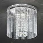 Charisma Crystal Triple Ceiling Light CF5724