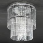 Charisma 4 Lamp Crystal Ceiling Light CF5725