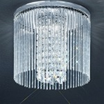 Bathroom Crystal Ceiling Light KT5727