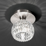 CF5728 Tierney Satin Nickel Ceiling Light