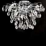 Wisteria LED Crystal Semi Flush FL2326/8