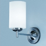 Feya Matt Nickel Single Wall Light KN9301/727