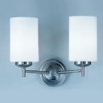 Feya Matt Nickel Double Wall Light KN9302/727