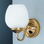 Alba Wall Light Polished Brass COB11708/715