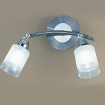 Campani Silver Double Wall Light DP40022