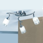 Campani Silver Ceiling Light DP40023
