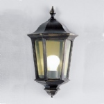 EXT6561 Boulevard Wall Light Matt Black