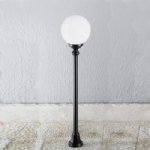 Pena Outdoor Globe Post Light OUW6593