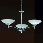 Foxglove Chrome 3 Light Pendant TP2006/3