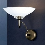 Foxglove Bronze Single Wall Light TP2010/1