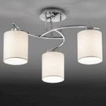 Hexx Ceiling Chrome Light FL2080/3/1124