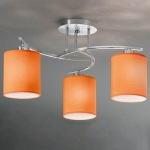 Vivace 3 Light Semi Flush Fitting FL2080/3/1153