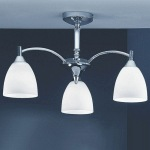 Emmy Chrome Ceiling Fitting FL2087/3