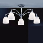 Emmy Chrome Ceiling Fitting FL2087/5