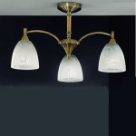 Emmy 3 Light Ceiling Fitting