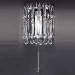 FL2140 1 Teardrop Bathroom Light